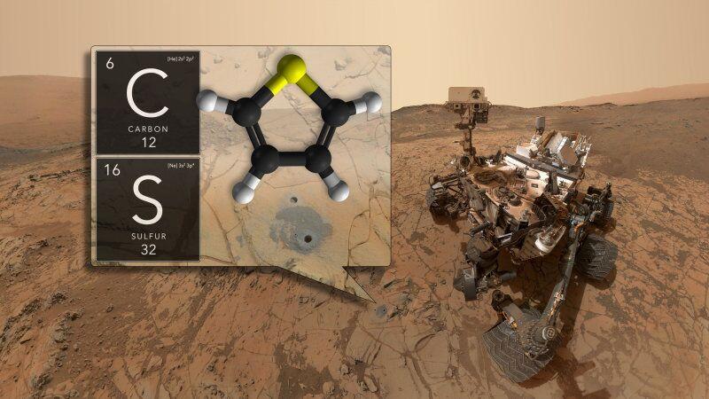 好奇号重大发现:火星存在有机分子