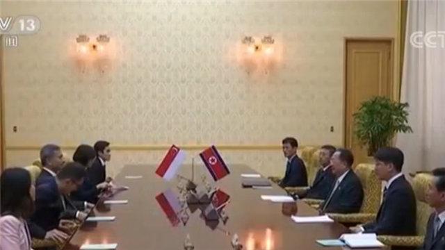 新加坡外长访朝!访朝原因与美朝首脑会晤有关?