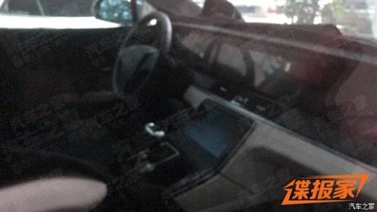 贯穿屏设计 车和家SUV内饰谍照曝光