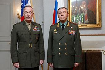 美俄军队高官在芬兰会面