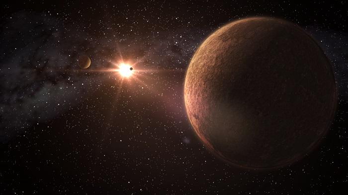 科学家发现围绕恒星运转的行星 大小与地球相近