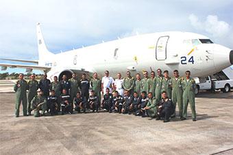 印度最新反潜巡逻机赴关岛参加美日印三国演习