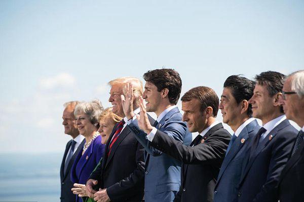 七国集团峰会在加拿大大魁北克举行