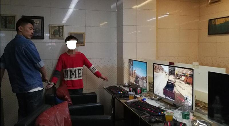 市民在网吧手机被偷 民警两小时就抓获窃贼