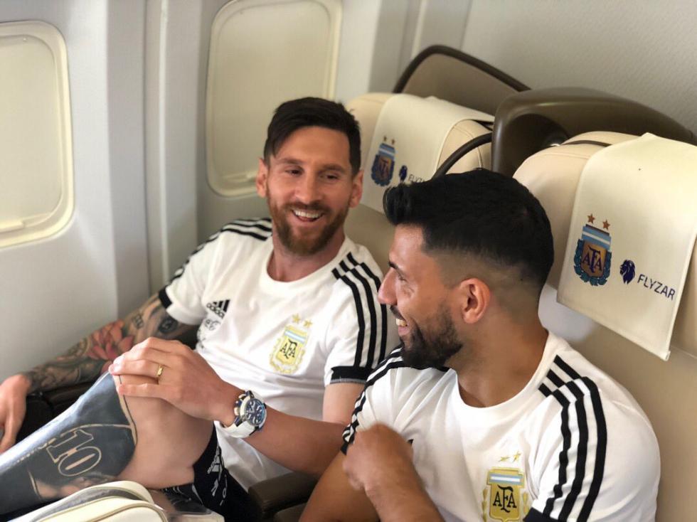 阿根廷世界杯主力阵容曝光:梅西前腰 伊瓜因替补