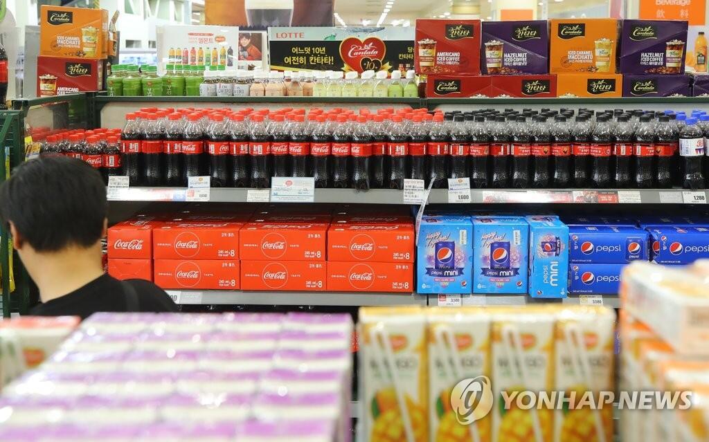 韩国可乐价格同比上涨9%  主要加工食品近7成价格上浮