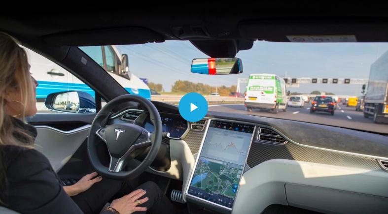"""马斯克称特斯拉将在8月开启""""全自动驾驶功能"""""""