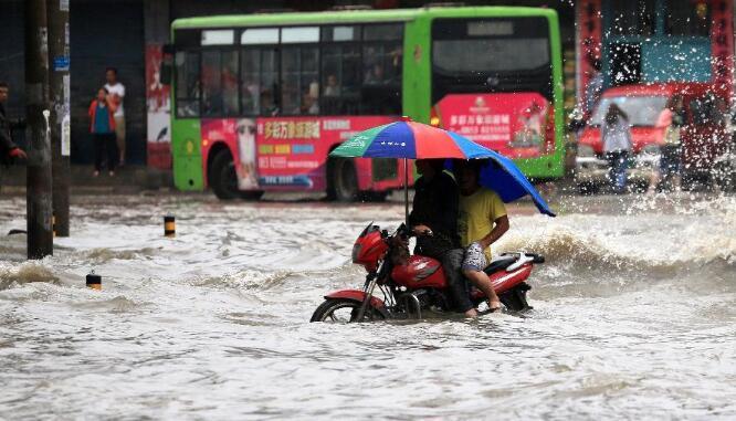 中央气象台:南方将再迎强降雨 暴雨蓝色预警