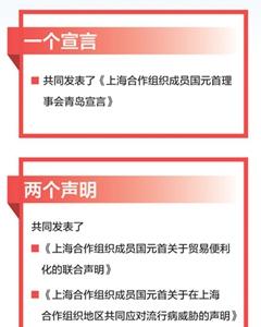 """广泛共识丰硕成果闪亮""""上合""""青岛峰会"""