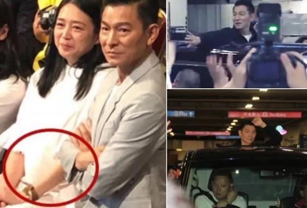 52岁朱丽倩被爆怀孕 刘德华否认:我每晚都很努力