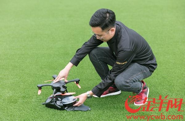 广州启动国内首个无人机物流配送航线,叫外卖只用等15分钟!