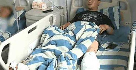 男子酒后驾驶电动车遭遇车祸 醒来后发现被截肢