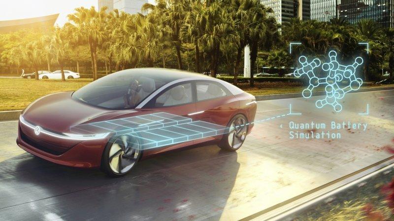 大众利用量子计算机开发高性能电动汽车电池