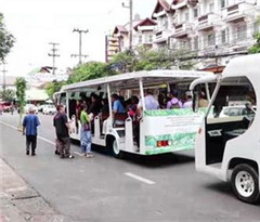 泰国清迈推绿色游 每天提供2趟免费绿色游览车服务
