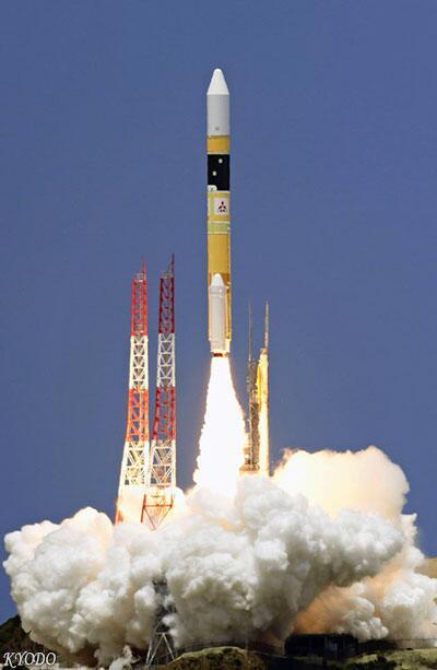 日本连续33次成功发射H2A火箭 成功率超过97%
