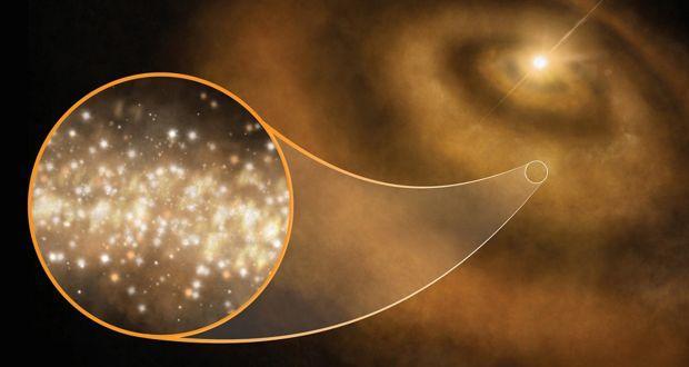 天文学家猜了20年的银河系神秘微波信号来自钻石云