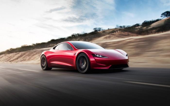 马斯克称特斯拉下一代Roadster跑车令人惊叹