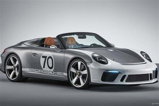 保时捷911 Speedster官图发布 将19年量产
