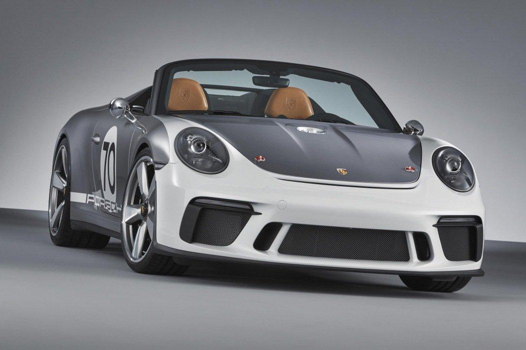 保时捷发布911 Speedster 概念车 纪念诞辰70周年