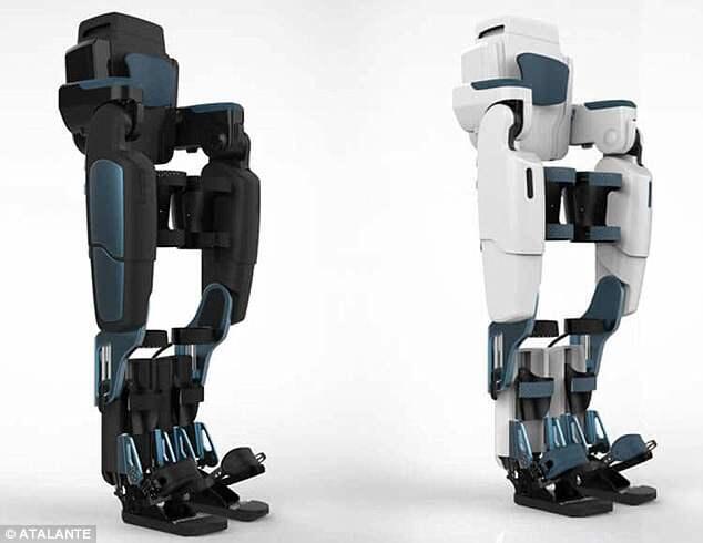 法企研发仿生机械行走装置 助半身瘫痪者走路