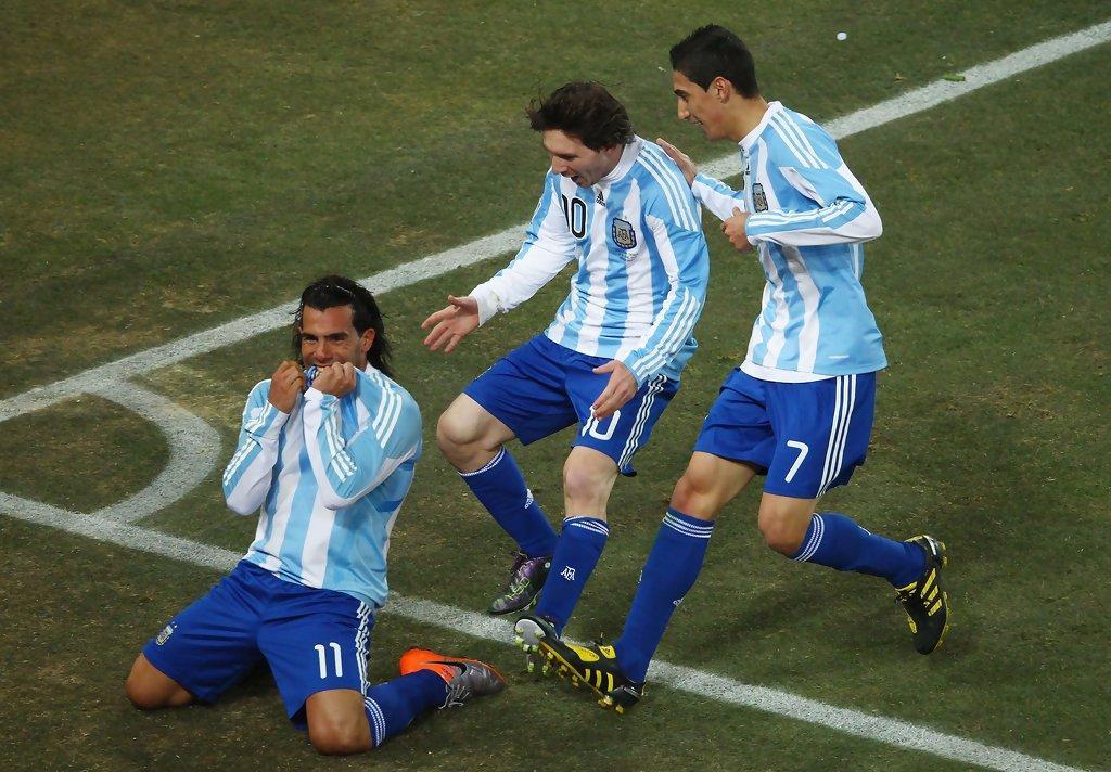 特维斯:阿根廷是夺冠热门 只有德国巴西能比得上