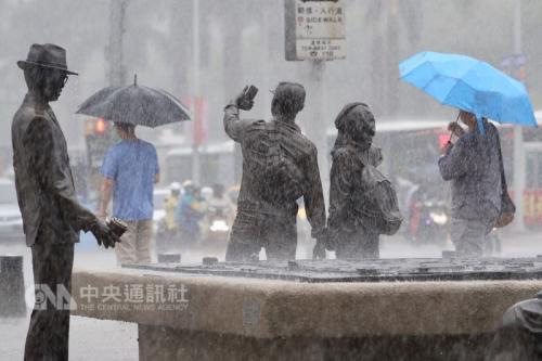 台湾未来一周防大雨豪雨 南部13日雨势越晚越强