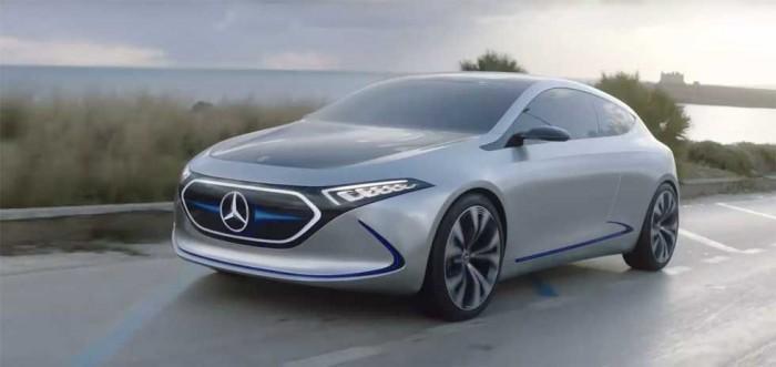 梅赛德斯-奔驰推出全电动紧凑型EQA EV样车