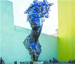 雕塑与涂鸦 哈瓦那城市之魂