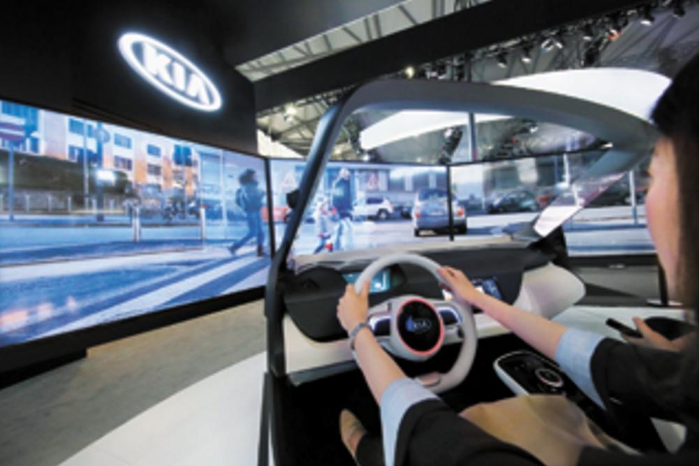 现代起亚在中国与科技公司合作研发自动驾驶技术