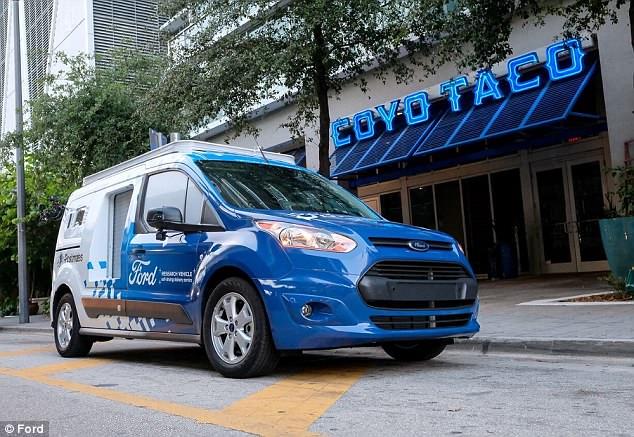 送货司机要失业?福特测试自动驾驶货车送货服务