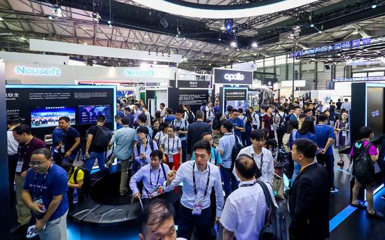 CES Asia2018上海开幕 自动驾驶技术集中亮相