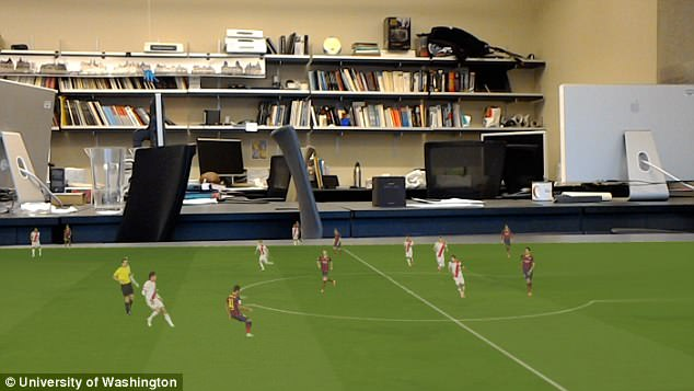 AI可将视频转为3D全息图:饭桌上看世界杯