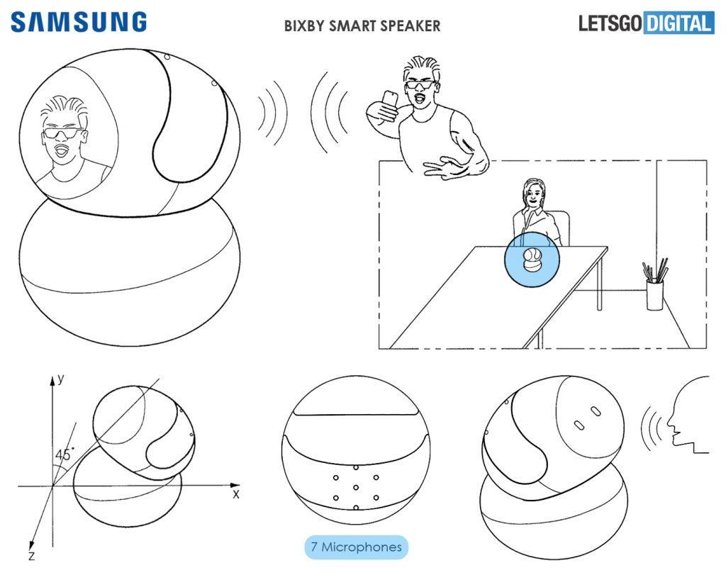 三星智能音箱将搭载Bixby 可自动向讲话人旋转