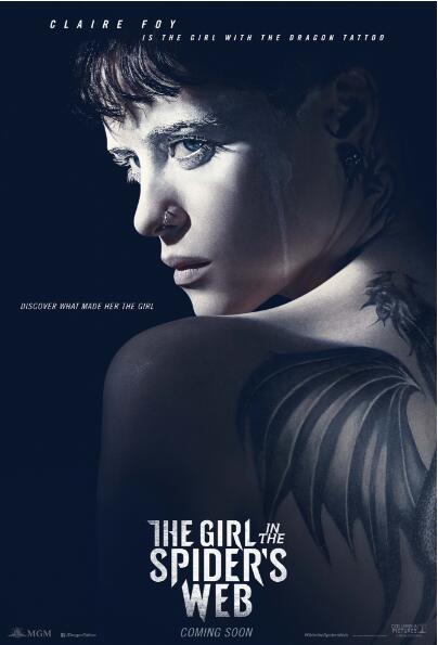 《蜘蛛网中的女孩》主演出席欧洲电影展 风采别样