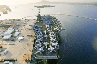 剑指叙利亚?美军最新派出核航母现身地中海