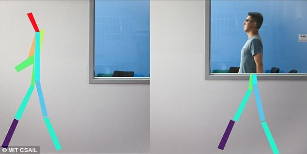 美国研究人员创建新系统 可透过墙壁看到人体