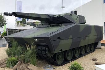 德国展出新款隐形装甲车 已经不是科幻可以形容