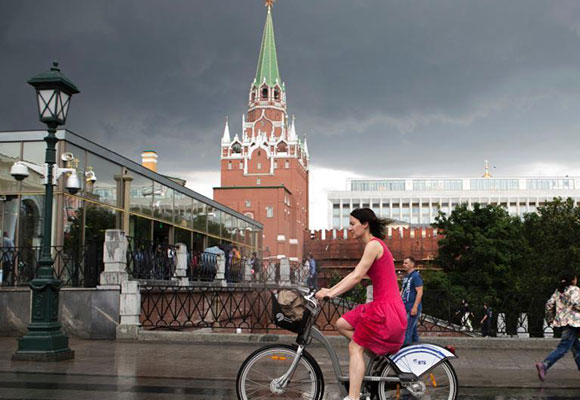 """世界杯来了!实拍俄罗斯现代化城市""""美颜照"""""""