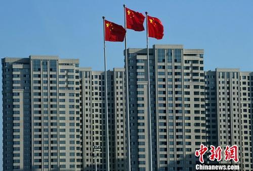 图为福州一处刚建设完工的房地产楼盘。(资料图片) <a target='_blank' href='http://www.chinanews.com/' _cke_saved_href='http://www.chinanews.com/' _cke_saved_href='http://www.chinanews.com/' _cke_saved_href='http://www.chinanews.com/'>中新社</a>记者 张斌 摄