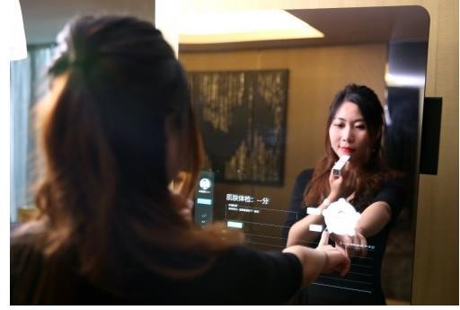 """苏宁崭新黑科技产品""""魔镜""""将现身CES Asia展"""