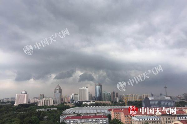 北京西部北部今仍有阵雨 端午假期雷阵雨多发