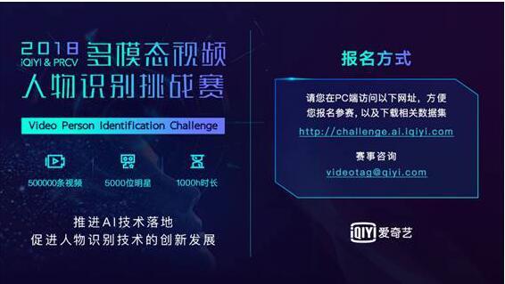 2018爱奇艺AI竞赛开幕 推进国内外视频AI技术创新发展