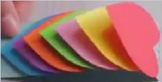教你自制3D彩虹卡片 又get到了新技能