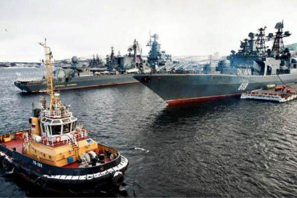 俄军出动36艘军舰参加军演 大阵仗让英媒紧张