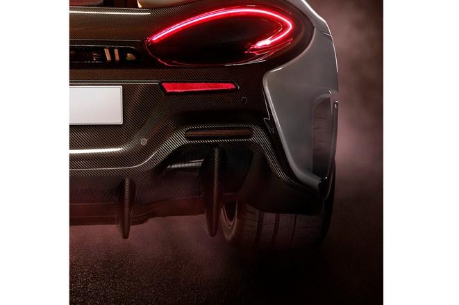 迈凯伦公布新车预告图 排气系统设计独特