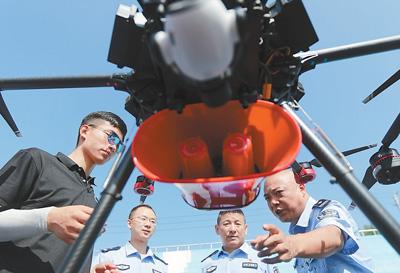 基层公安民警培训无人机驾驶