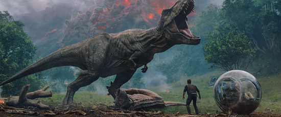 《侏罗纪世界2》今日上映  获斯皮尔伯格亲赞