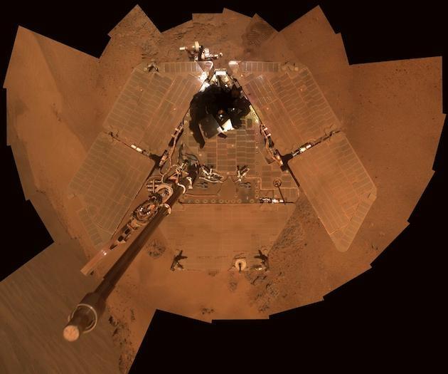 火星沙尘暴导致机遇号停机:超期服役13年