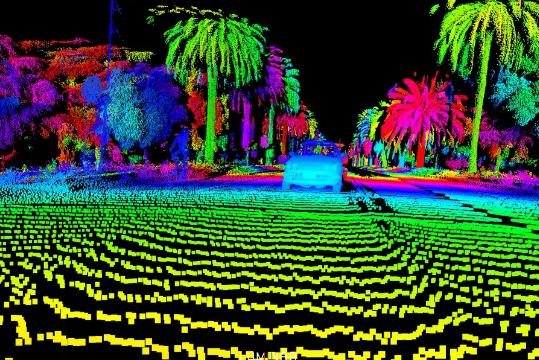 沃尔沃自动驾驶汽车正获得新激光传感器观察世界