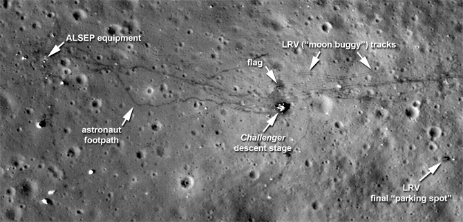 NASA磁带记录表明:人类活动导致了月球变暖